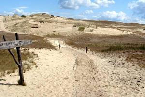 Podróże po Litwie. Wydma goni wydmę