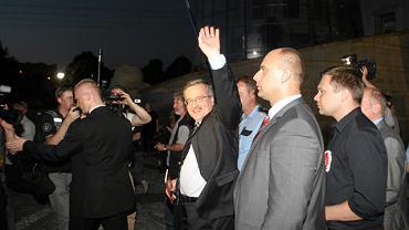 Bronisław Komorowski, mimo dobrej formy Jarosława Kaczyńskiego, uważa się za zwycięzcę debaty