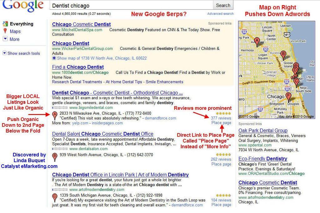 Google eksperymentuje z wyszukiwaniem