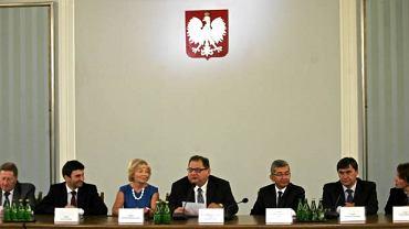 Posiedzenie komisji śledczej do spraw śmierci Barbary Blidy