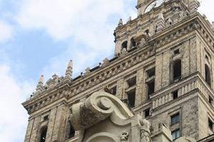 Wokół Pałacu Kultury