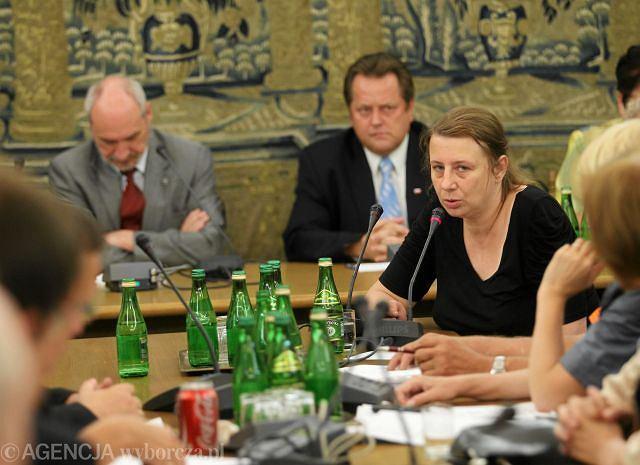 Magdalena Merta, żona wiceministra kultury Tomasza Merty, który zginął w katastrofie 10 kwietnia