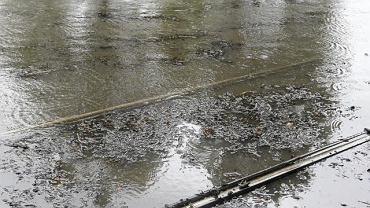 Po intensywnych opadach deszczu w Małopolsce może się podnieść poziom wody w rzekach