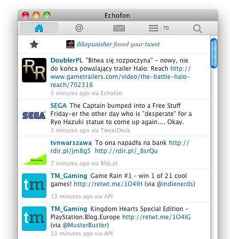 Zmiany w API Twittera widoczne na Echofonie