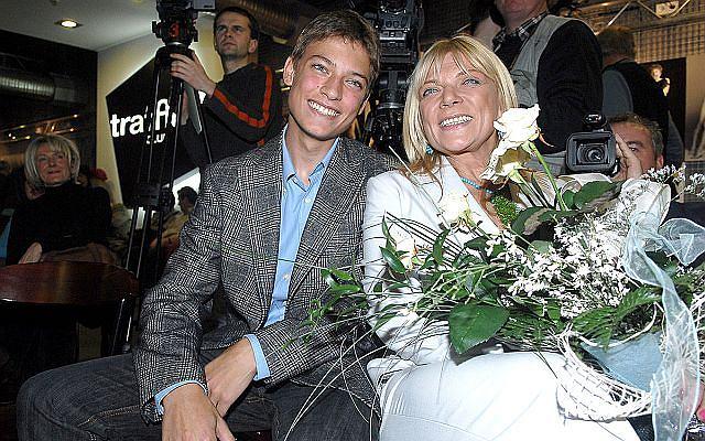 Dorota Stalińska z synem Pawłem Stalińskim. 21-latek weźmie udział w 12 edycji Tańca z Gwiazdami.