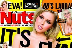 Iga Wyrwał - polski fotomodelka znó rozbiera się dla zagranicznych magazynów.