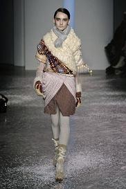 NEW YORK Fashion week february 2010_Rodarte_READY TO WEAR FALL WINTER 2010_11  PHOTO: EAST NEWS / ZEPPELIN