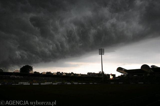 Burza nad Bełchatowem