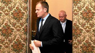 Premier Donald Tusk i Michał Boni