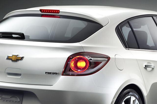 Chevrolet Cruze - studium wersji hatchback