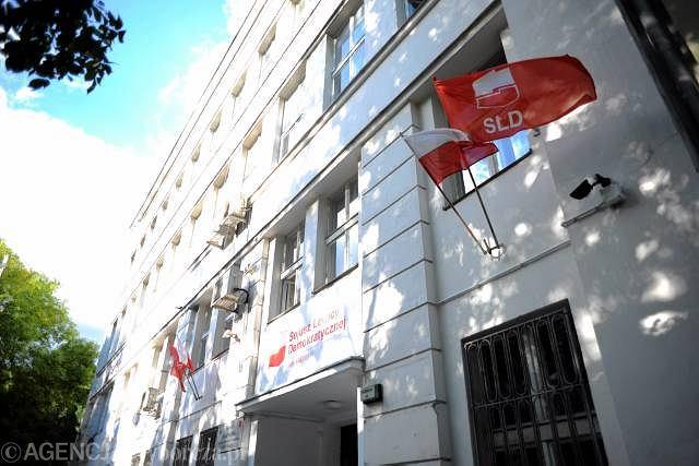 Siedziba Sojuszu Lewicy Demokratycznej w Warszawie przy ul. Rozbrat 44