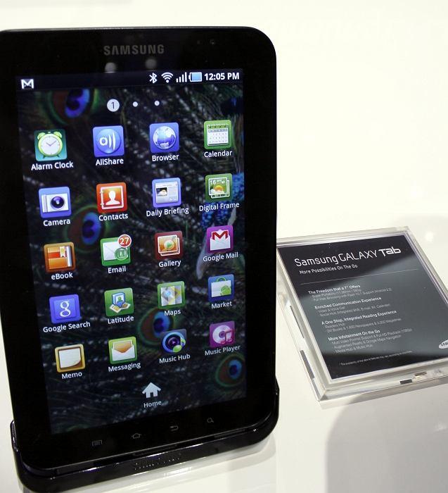 IFA 2010 - tablet Samsung Galaxy Tab