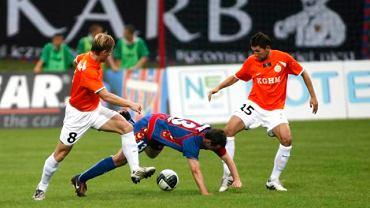 5. kolejka. Polonia B. - Zagłębie 2:0. Bartczak, Kobylik i Kocot