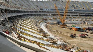 Budowa stadionu Narodowego - 13 września 2010 r.