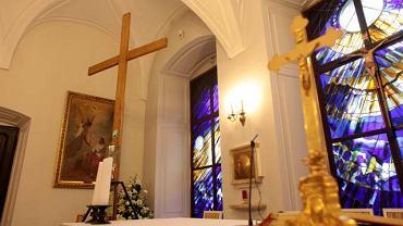 Krzyż obecnie znajduje się w kaplicy Pałacu Prezydenckiego.