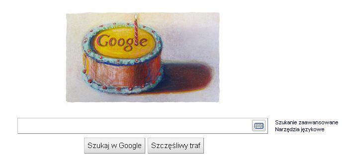 Google kończy 12 lat