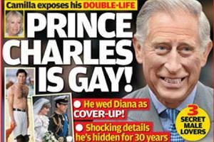 Książę Karol jest gejem!