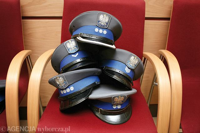 Policyjne czapki