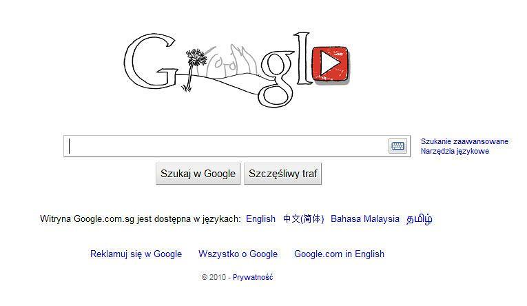 Google Doodle gra dla Lennona