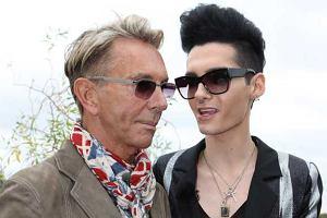 Czy Bill Kaulitz z Tokio Hotel  i projektant Wolfgang Joop, mają się ku sobie?