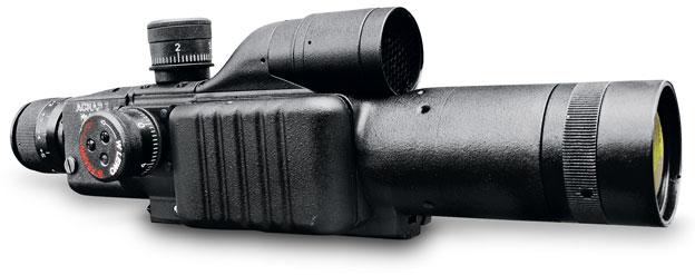 broń: celownik optyczno-termowizyjny