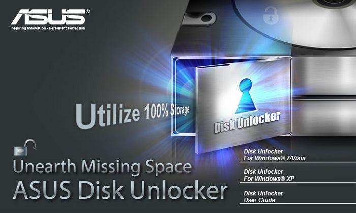 Asus Disk Unlocker