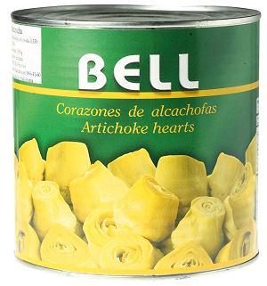 hiszpańskie spacjały - alcachofas corazones - serca karczochów