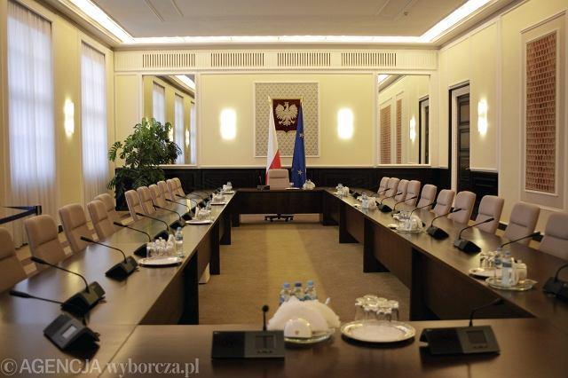 Sala im. Andrzeja Frycza Modrzewskiego, Kancelaria Prezesa Rady Ministrów
