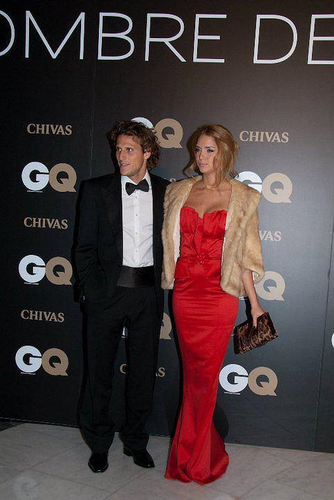 Diego Forlan, Człowiek roku magazynu GQ, i jego dziewczyna Zaira Naira