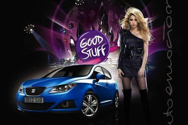 Shakira i Seat ponownie łączą siły