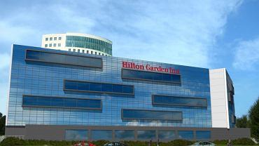 Tak miał wyglądać hotel Hilton u zbiegu Sikorskiego i Sobieskiego