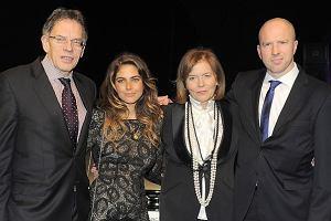 Cała rodzina wspierała Teresę Rosati w pokazie jej najnowszej kolekcji.