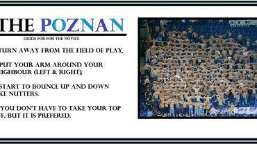 Apel kibiców Manchesteru City: ''Let's do Poznan''