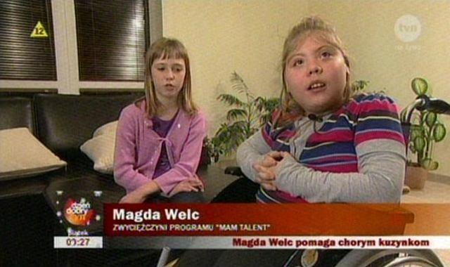 Magda Welc i Zuzia