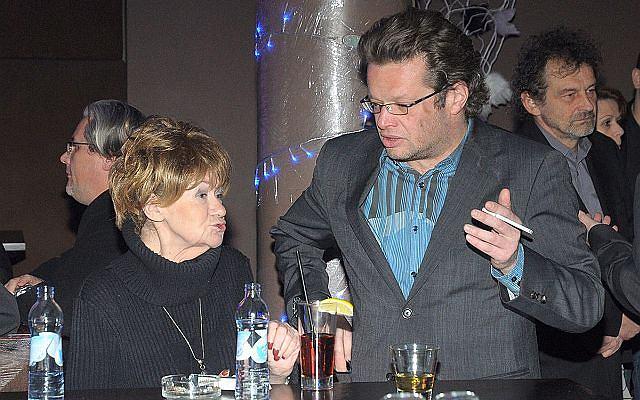 Gwiazdy też ludzie. Przekonali nas o tym Marcin Meller z Marią Czubaszek. Oboje pojawili się na koncercie Andrzeja Grabowskiego.