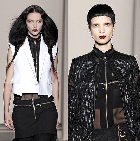 Givenchy pokaz wiosenno letniej kolekcji w Paryżu