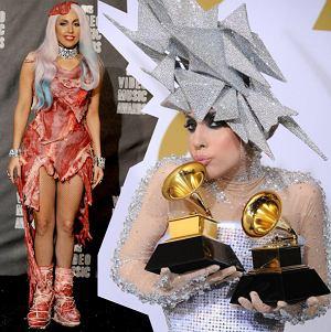 Lady Gaga szokuje stylizacjami, ubrania i fryzury Lady Gagi