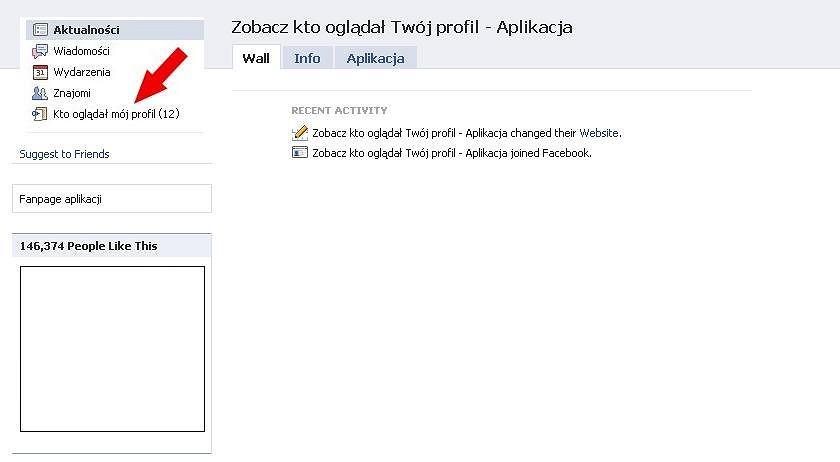 Zobacz kto oglądał Twój profil na Facebooku