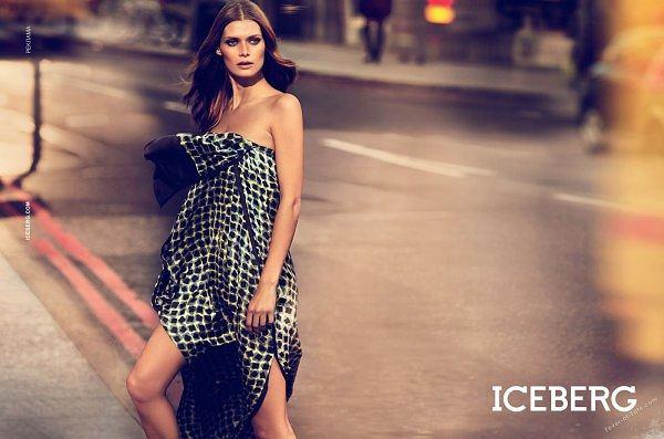 Małgosia Bela w kampanii Iceberg wiosna 2011