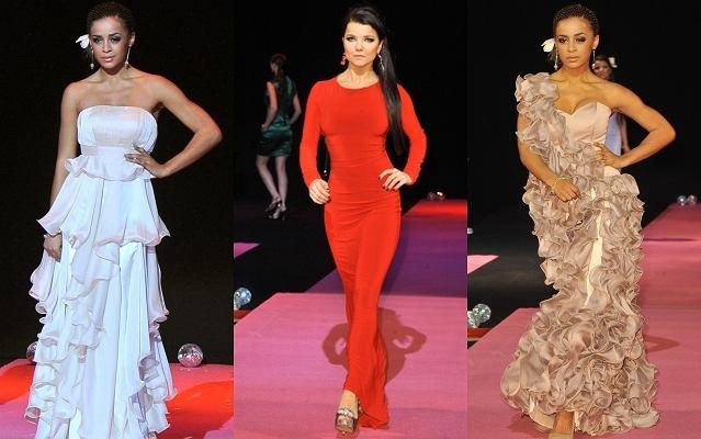 Joanna Jabłczyńska i Ola Szwed wystąpiły w roli modelek na Gali Mody Ślubnej. Obydwie prezentowały się na wybiegu całkiem nieźle. Szczególnie Joanna wyglądała niesamowicie seksownie w czerwonej obcisłej sukni. Zupełnie jak nie ona. Zresztą zobaczcie sami.