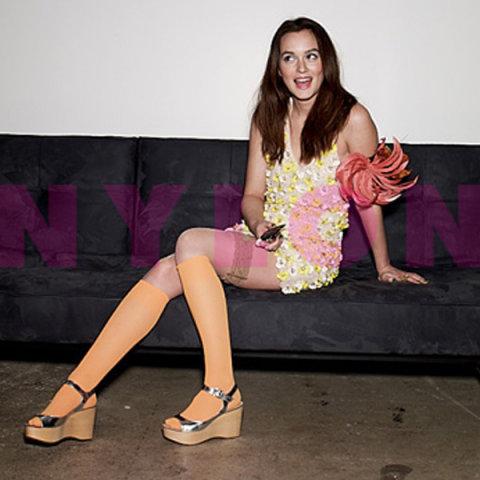 Leighton Meester w magazynie Nylon