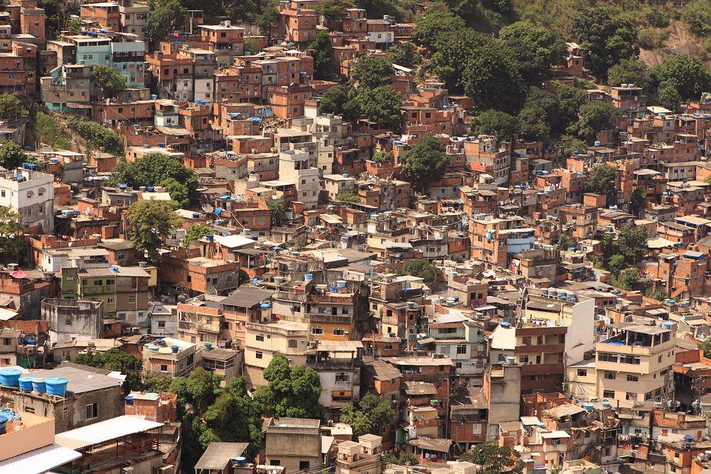 Dzielnice biedy są nieodłącznym elementem największych miast świata