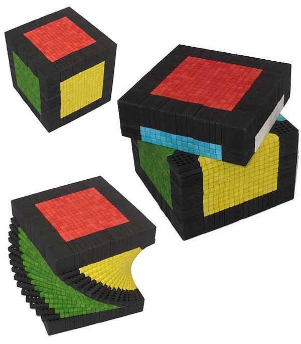 17 poziomowa kostka Rubika