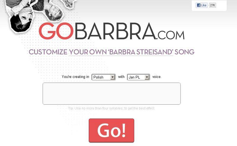 Go Barbra!