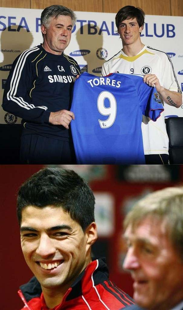 Fernando Torres, Luis Suarez
