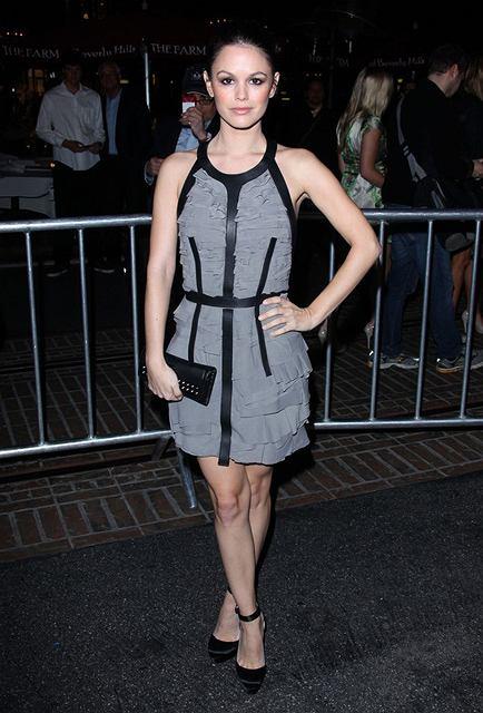 Rachel Bilson na premierze filmu Waiting for Forever