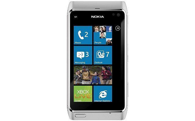 Tak może wyglądać smartfon Nokii z Windows Phone 7