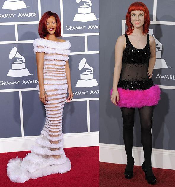 Rihanna i Hayley Williams na Grammy 2011