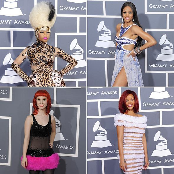 Wybieramy najgorzej ubraną gwiazdę na Grammy 2011