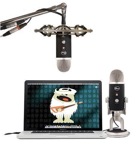Mikrofon Yeti Pro.